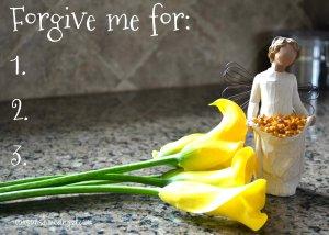 Forgiveness Card