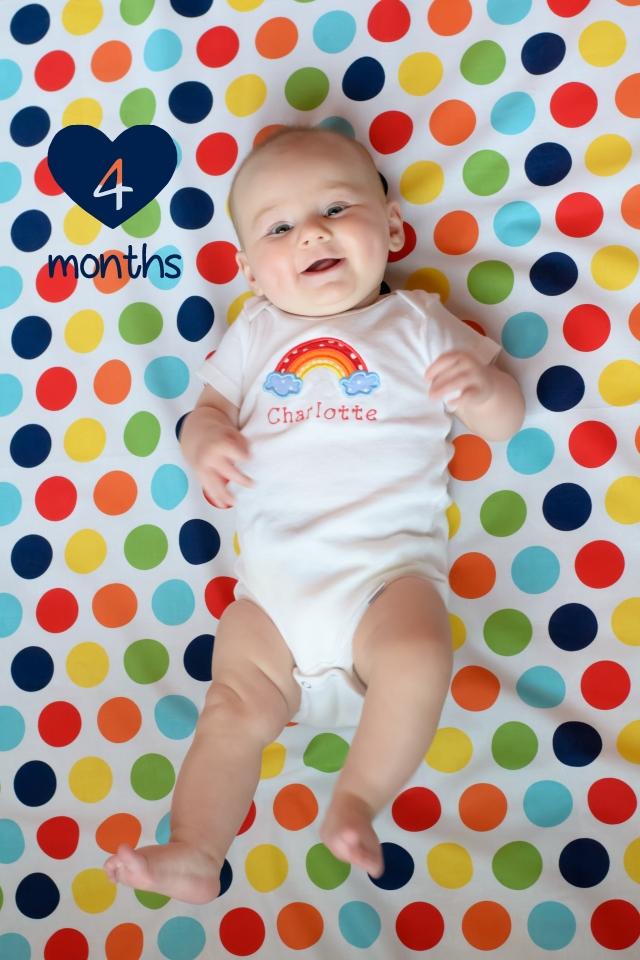 charlotte 4 months