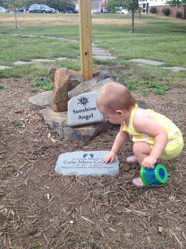 Thanks to Carly and Mark for donating Callie's marker.  It's beautiful.